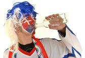 Slovakian supporter — 图库照片