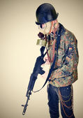 Young soldier — Foto de Stock