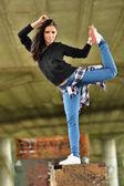 Ballerina girl — Foto Stock