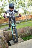 Motorcu atlama — Stok fotoğraf