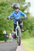 Little Biker — Foto Stock