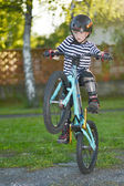 Little Biker — Stock fotografie