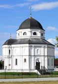 Beautiful Russian village church — Stock Photo