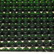 Stacked up wine bottles in the cellar — Stock Photo