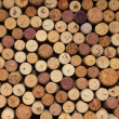 Many different wine corks — Stock Photo #18979651