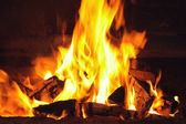A nice fire — Stock Photo