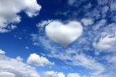 Heart on the sky — Stock Photo
