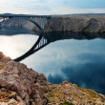 Bridge to the Pag island, Croatia — Stock Photo #21131077