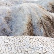 Cracked soil near mud volcanoes in Buzau, Romania — Stock Photo #21743501