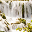 Waterfalls, Krka national park, Croatia — Stock Photo