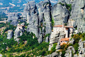 Meteora Monasteries, Greece, horizontal shot — Stock Photo