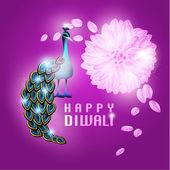 Happy Diwali Vector Design — Stock Vector