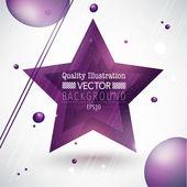 Modern Abstract Vector Background — Stock Vector