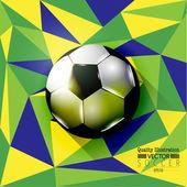 Creative Soccer Football Sport Vector Illustration — Stock Vector