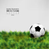 Ilustración creativa fútbol fútbol deporte vector — Vector de stock