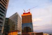 Modern construction — Stock Photo