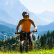 Mountain biker — Stock Photo #13867805