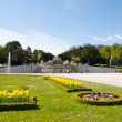 Schonbrunn Palace Gardens at Vienna, Austria — Stock Photo #15567571