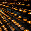 Candles in church — Stock Photo #19000135