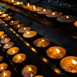 Candles in church — Stock Photo #19000153