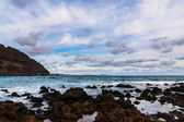 Beach, lansarote - kanarya adası — Stok fotoğraf