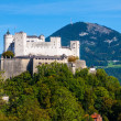 View of Salzburg. Austria. - Stock Photo