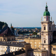 Salzburg roofs - Stock Photo