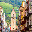 Street of old europitown Vipiteno, Italy — Stock Photo #29267193