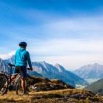 Mountain biker — Stock Photo #31599481