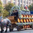 Oktoberfest solemn procession — Stock Photo