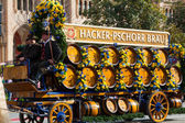 Oktoberfest solemn procession. — Stock Photo