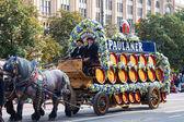 Oktoberfest solemn procession — Stock Photo