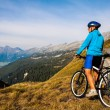 Mountain biker — Stock Photo #35132551
