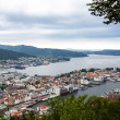 Stock Photo: View of Bergen, Norway