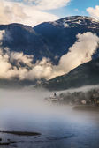 View to Nordfjord in Norway — Stock fotografie