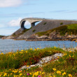 Picturesque Norway landscape. Atlanterhavsvegen — Stock Photo