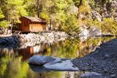 Lago en el cañón de armonía, turquía — Foto de Stock