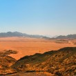 Sinai desert view — Stock Photo #7403748