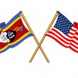 America and Swaziland alliance and friendship - 