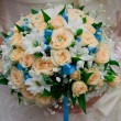 Stock Photo: Bridal bouquet close-up