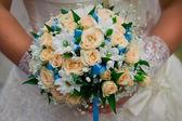Bridal bouquet close-up — Stock Photo