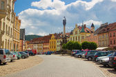 The picturesque town of Loket — Stock Photo