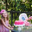 Girl celebrating Birthday Party — Stock Photo #46055819