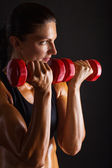 Entrenamiento fitness — Foto de Stock