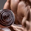 Gewichtheffen — Stockfoto