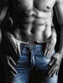 Seksi bir adam — Stok fotoğraf