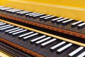 大键琴 — 图库照片