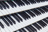 órgano musical — Foto de Stock