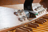 Pedal organ music — Stock Photo