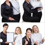dos mujeres de negocios — Foto de Stock